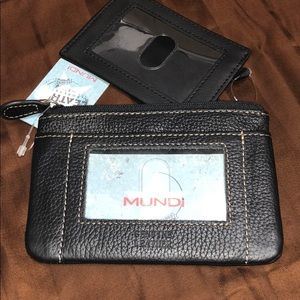 NWT Mundi ID Wallet with card holder